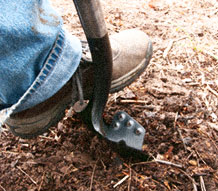 RAZOR-BACK® Introduces Round Point SuperSocket® Shovel with Power-Step®
