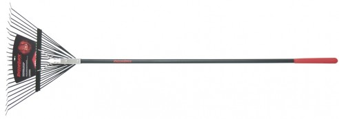 Fiberglass Handle 24-Tine Steel Rake