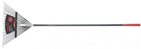 Fiberglass Handle 24-Tine Steel Rake
