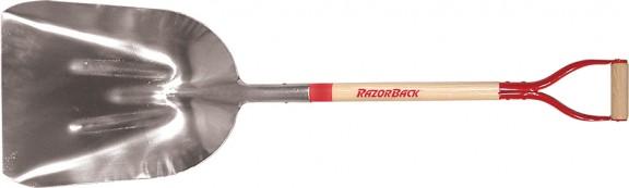 #12 Western Aluminum Scoop with D-grip