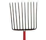 10-oval tine Ensilage Fork