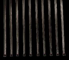 10 steel tines
