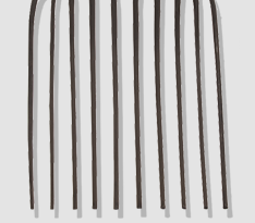 10 forged steel tines