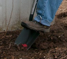 Professional Digging Shovel With D-Grip