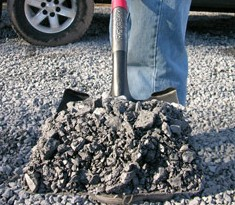 Professional Transfer Shovel With D-Grip